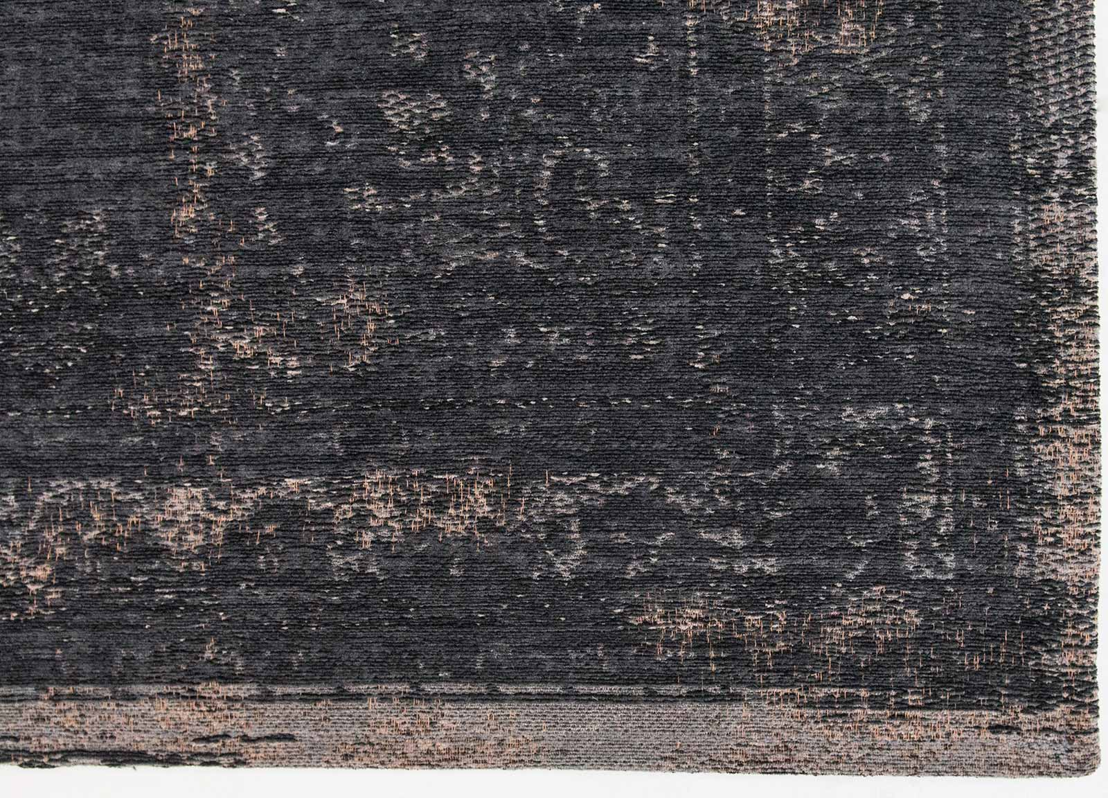Louis De Poortere Rug Fading World Mineral Black 8263