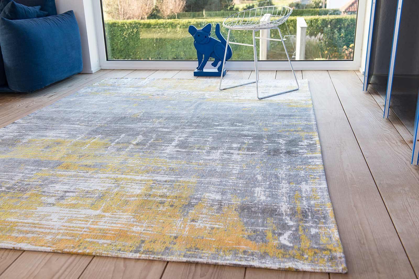 Louis De Poortere rug LX 8715 Atlantic Streaks Sea Bright Sunny interior