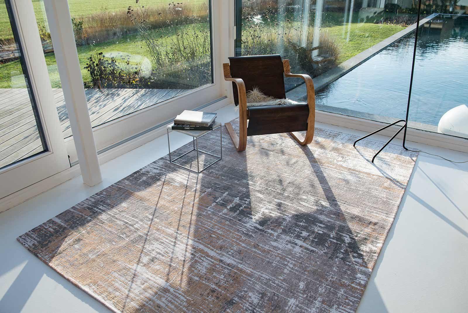 Louis De Poortere rug LX 8717 Atlantic Streaks Parsons Powder interior