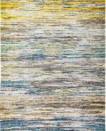 Louis De Poortere rug LX 8873 Sari Blue Yellow Mix