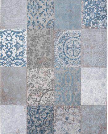 Louis De Poortere rug LX 8981 Vintage Bruges Blue