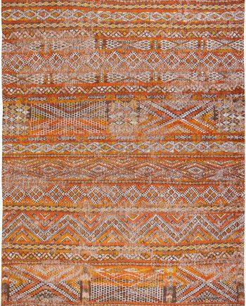 Louis De Poortere rug CS 9111 Antiquarian Kilim Riad Orange