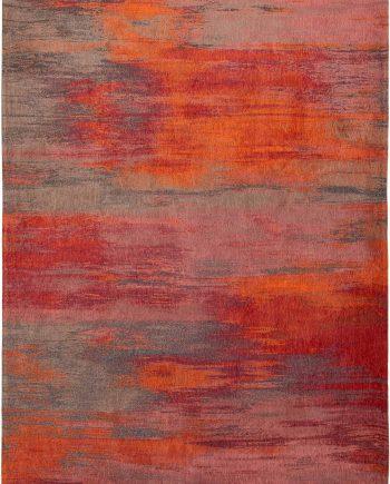 Louis De Poortere rug CS 9116 Atlantic Monetti Hibiscus Red