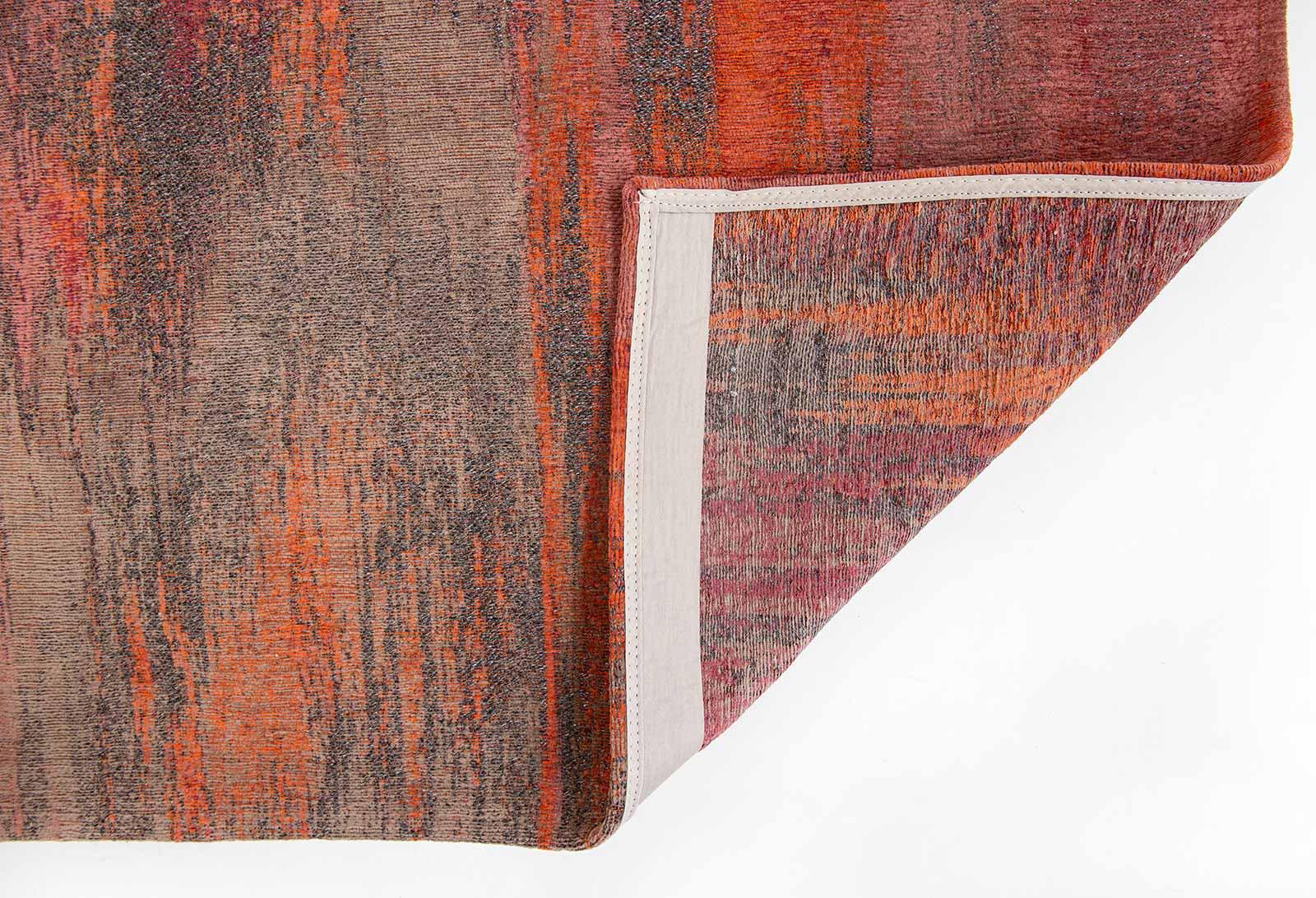 Louis De Poortere rug CS 9116 Atlantic Monetti Hibiscus Red back