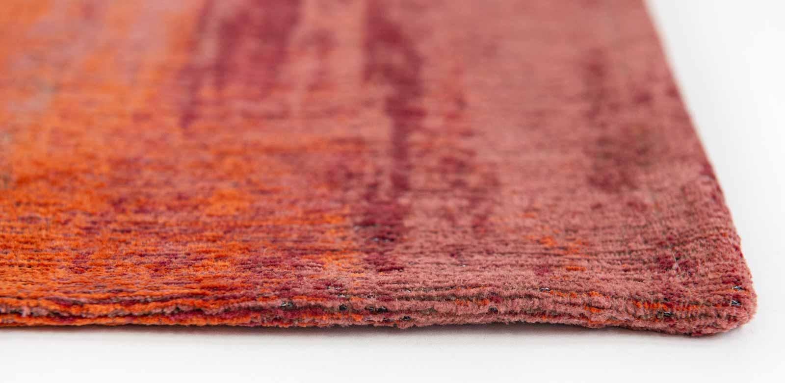 Louis De Poortere rug CS 9116 Atlantic Monetti Hibiscus Red side