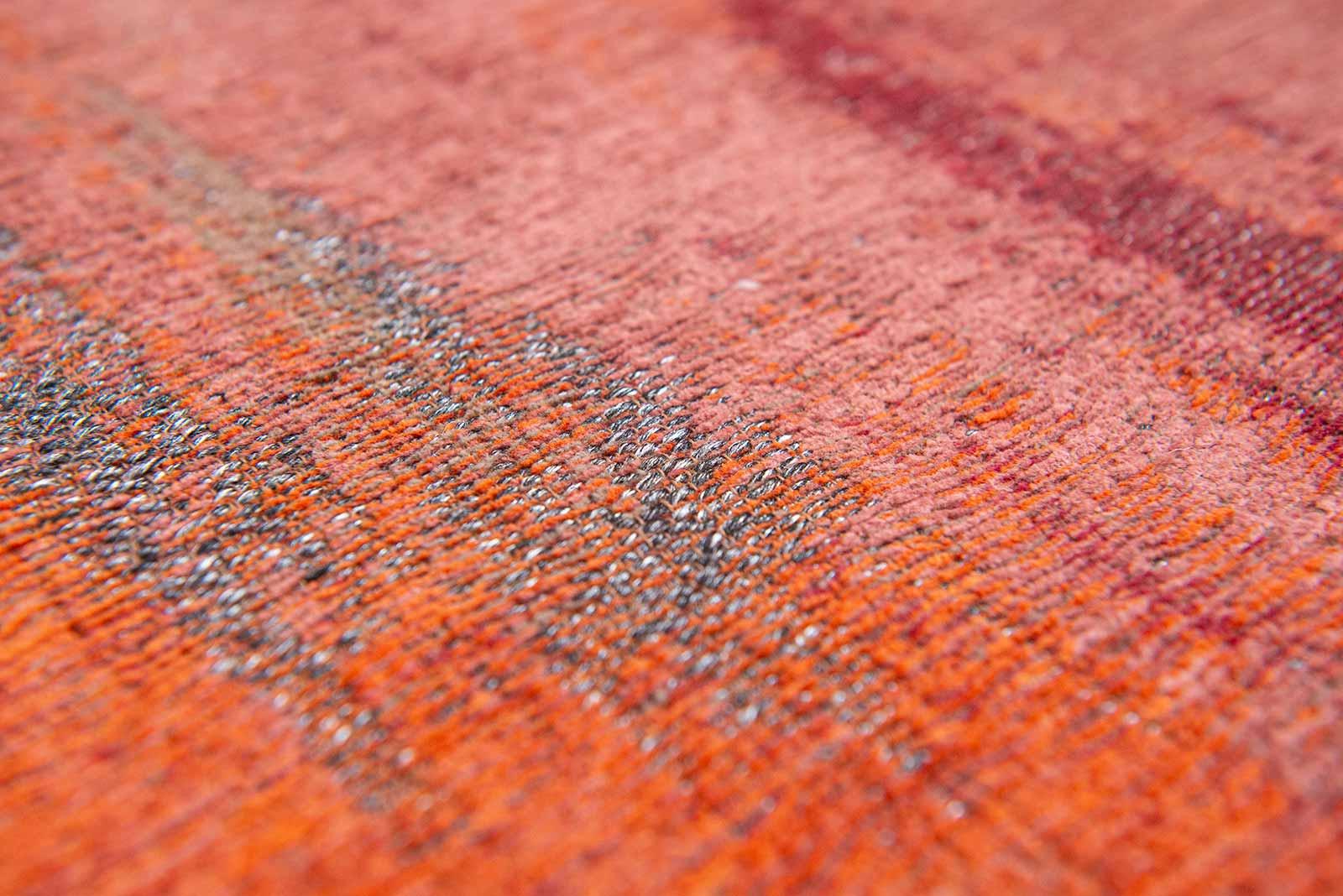 Louis De Poortere rug CS 9116 Atlantic Monetti Hibiscus Red zoom 2