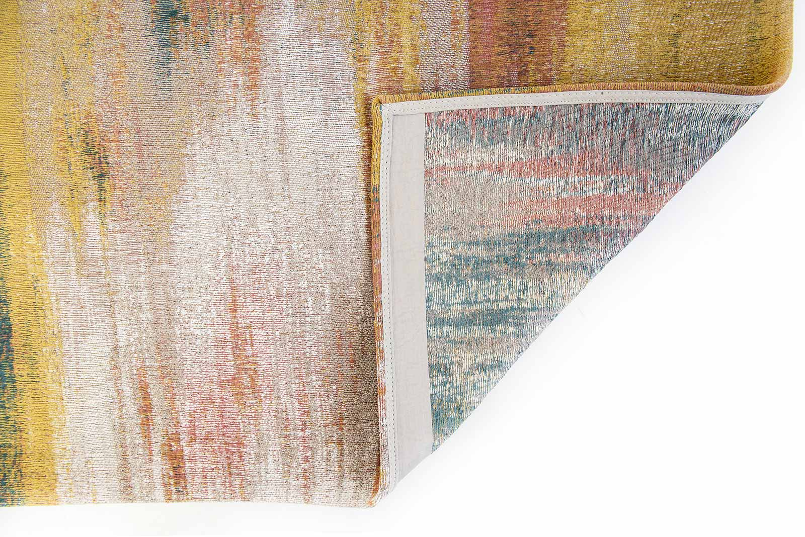 Louis De Poortere rug CS 9117 Atlantic Monetti Hydrangea Mix back