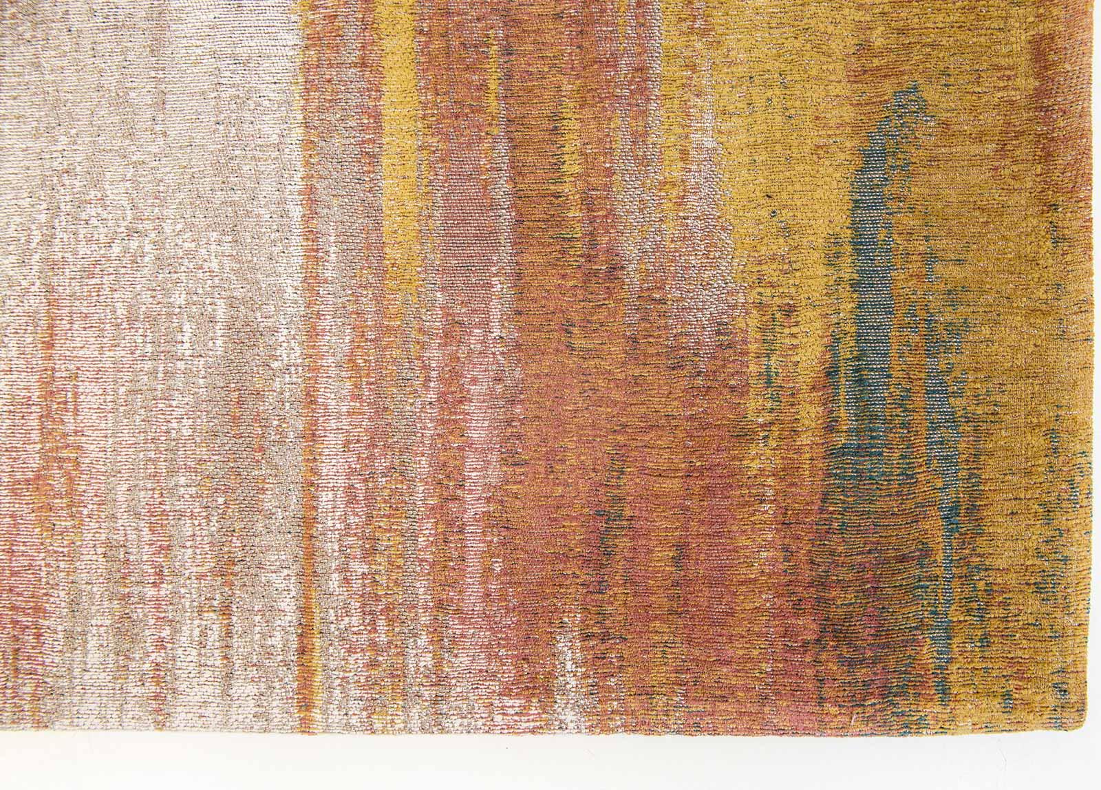 Louis De Poortere rug CS 9117 Atlantic Monetti Hydrangea Mix corner