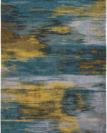 Louis De Poortere rug CS 9119 Atlantic Monetti Nymphea Blue