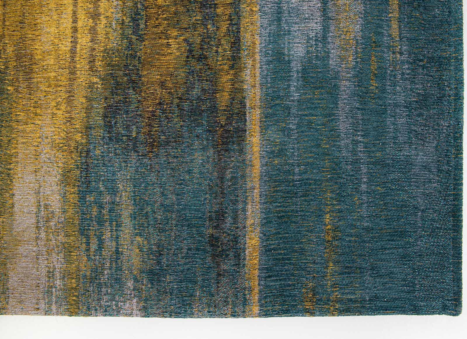 Louis De Poortere rug CS 9119 Atlantic Monetti Nymphea Blue corner
