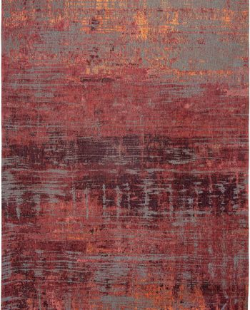 Louis De Poortere rug CS 9125 Atlantic Streaks Nassau Red
