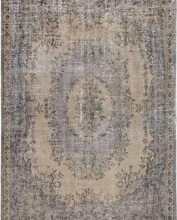 Louis De Poortere rug CS 9138 Palazzo Da Mosta Colonna Taupe