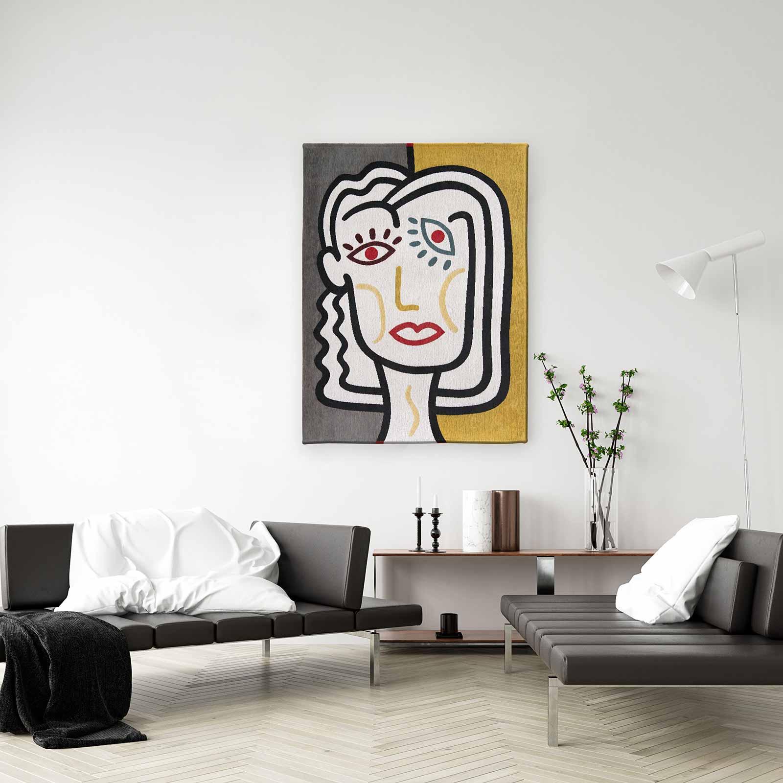 Louis De Poortere rug CS 9143 Gallery Dora Dorado interior 1