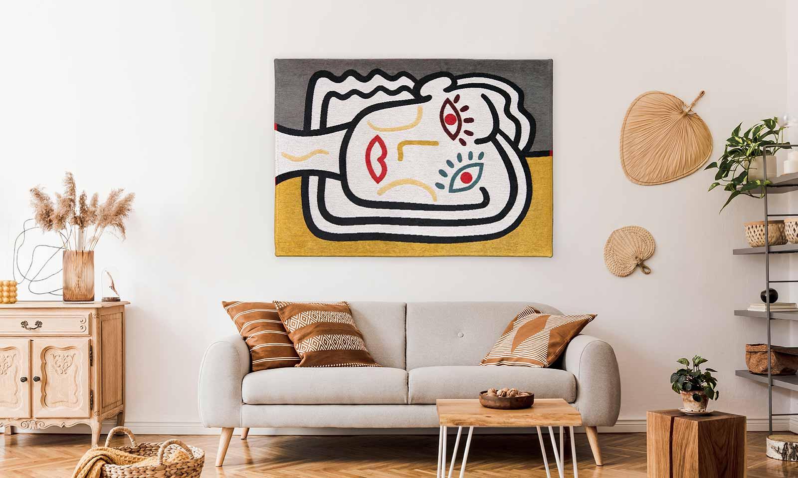 Louis De Poortere rug CS 9143 Gallery Dora Dorado interior 2