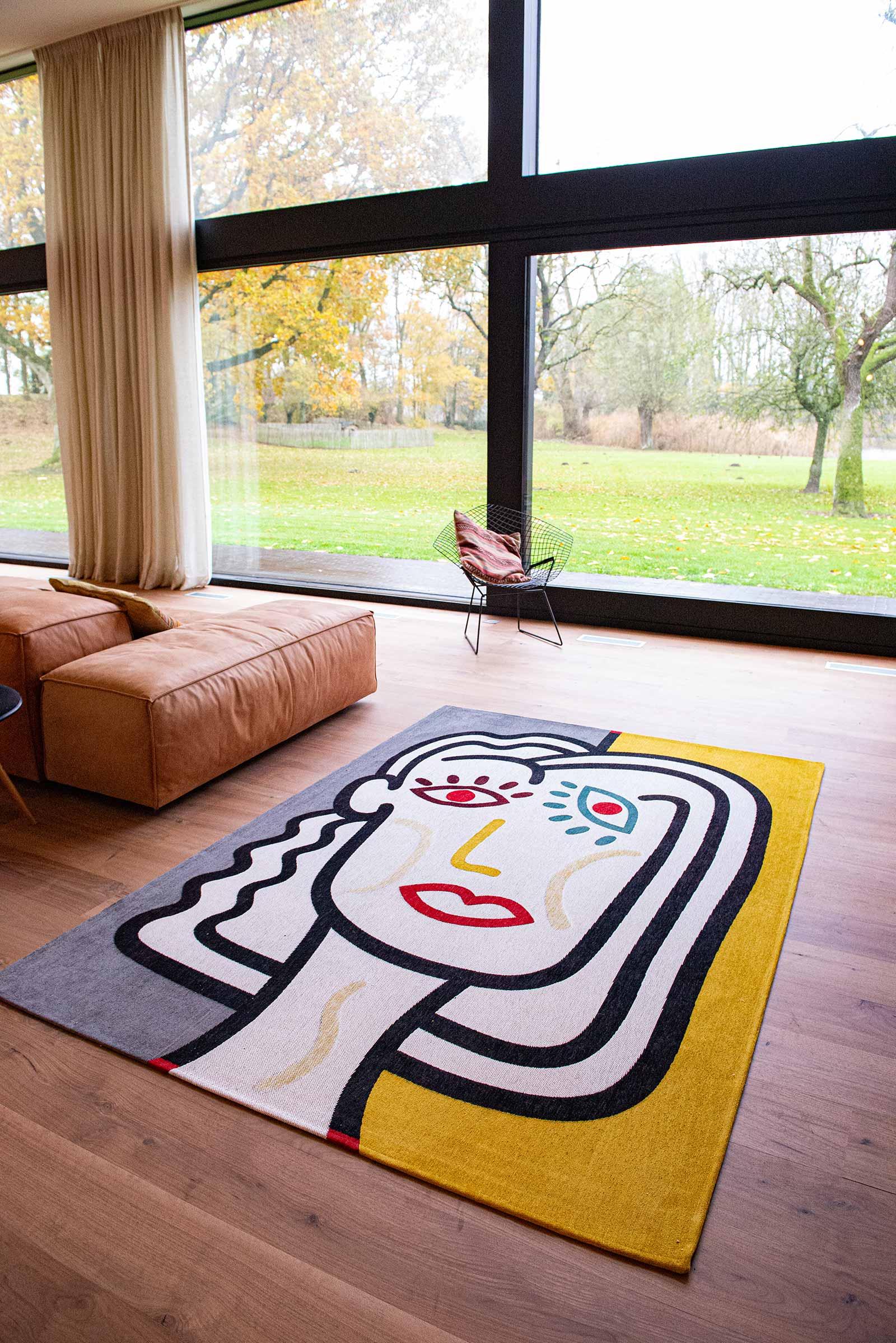 Louis De Poortere rug CS 9143 Gallery Dora Dorado interior 4