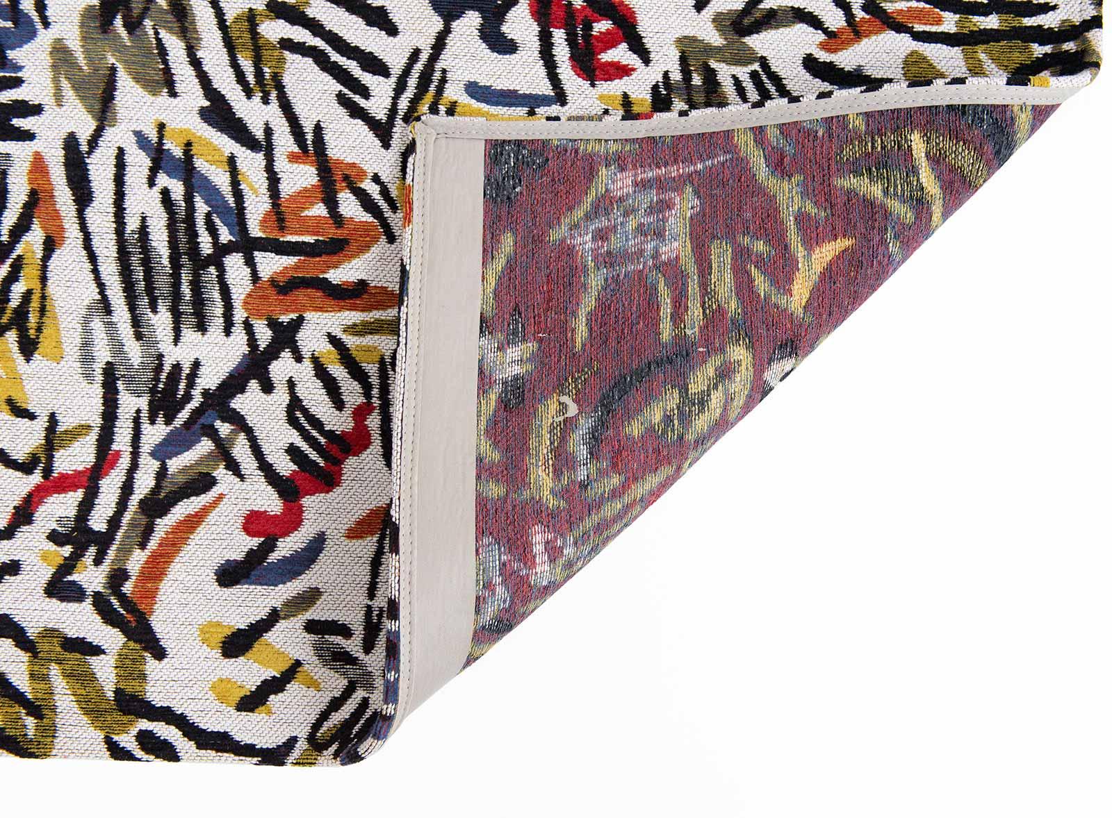Louis De Poortere rug CS 9144 Gallery Graffito Street Graph back