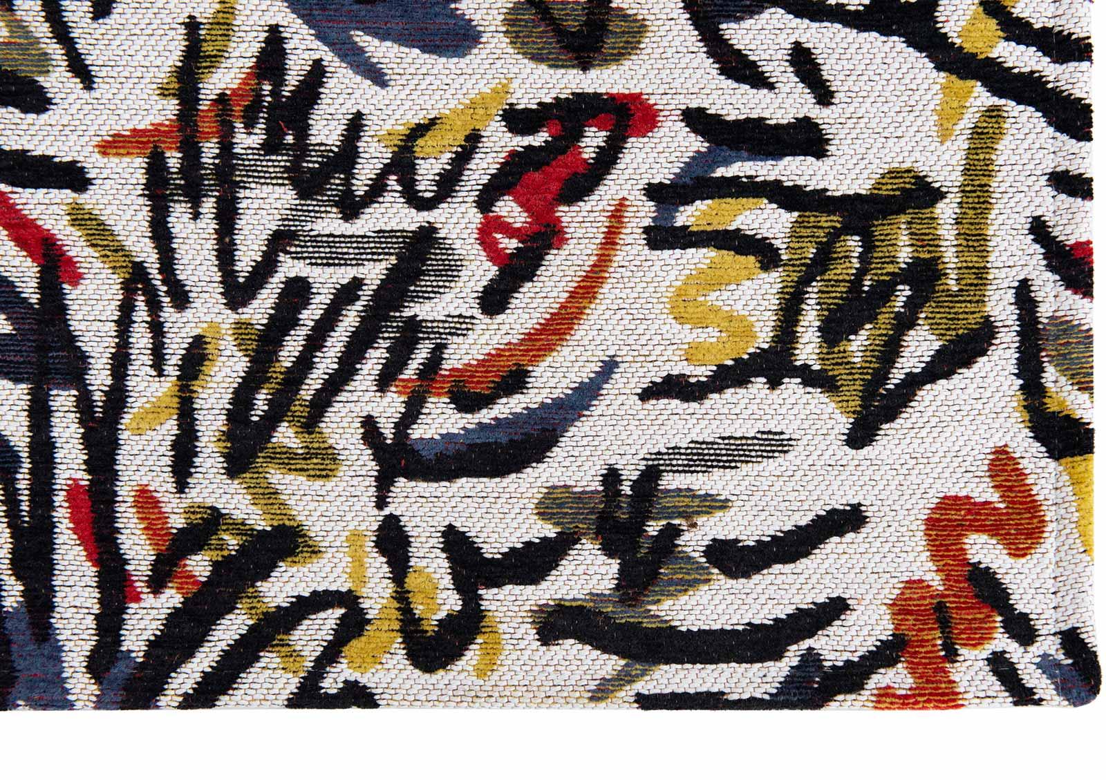 Louis De Poortere rug CS 9144 Gallery Graffito Street Graph corner
