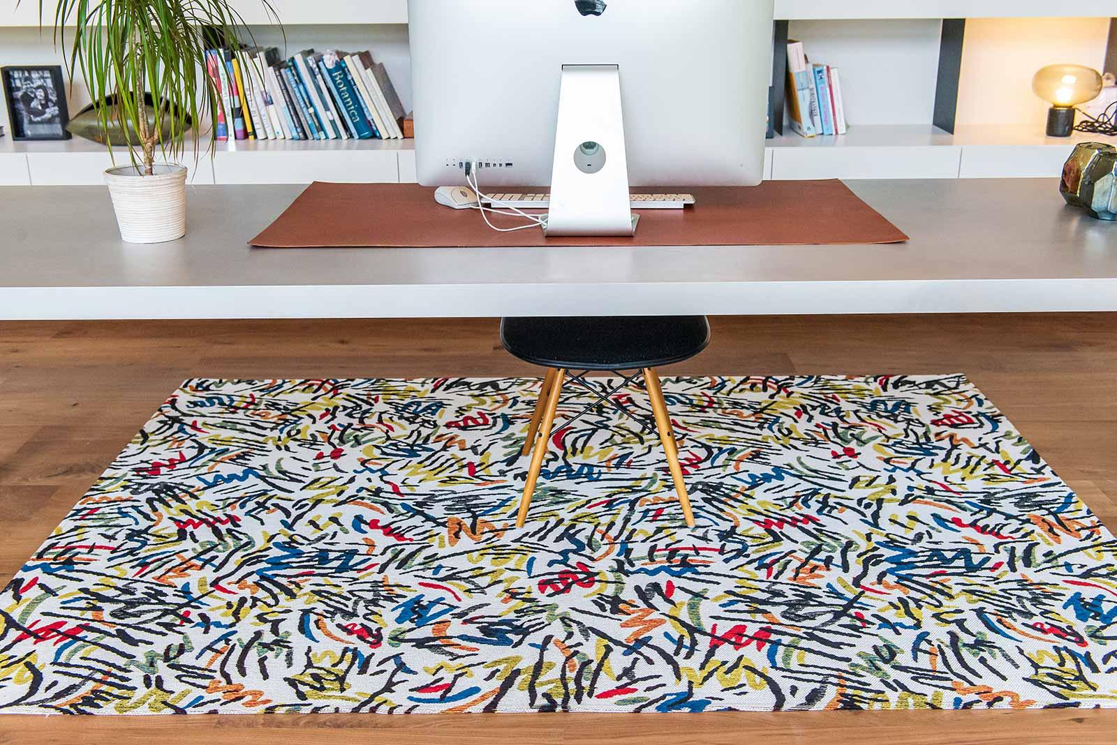 Louis De Poortere rug CS 9144 Gallery Graffito Street Graph interior 7
