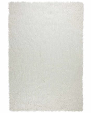 Andessi Rugs Agatha Faux Fur Antwerp Ivory 1