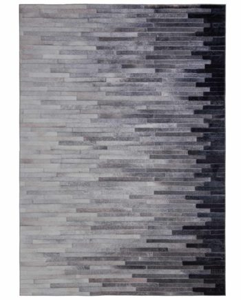 Andessi Rugs Dakota Porter Grey Oblong 1