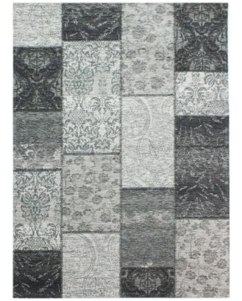 Andessi Rugs Heritage Black Grey 1