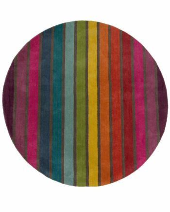 Andessi Rugs Illusion Candy Circle 1