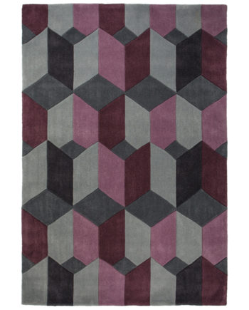 Andessi Rugs Scope Purple Grey 1