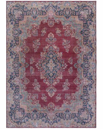 Andessi Rugs Fold Colby Red 3