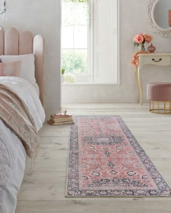Andessi Rugs Fold Somerton Pink 4