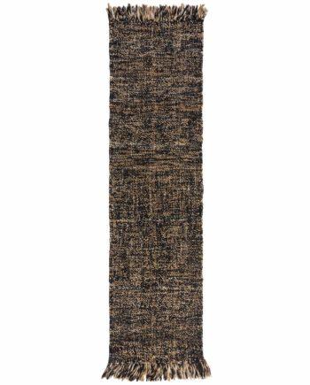 Andessi Rugs Idris Jute Wool Idris Black Natural 5